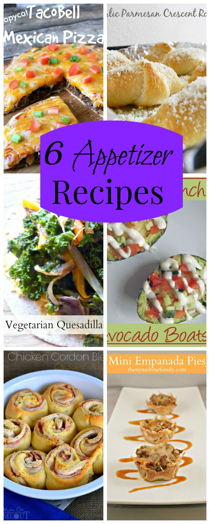 6 Appetizer Recipes