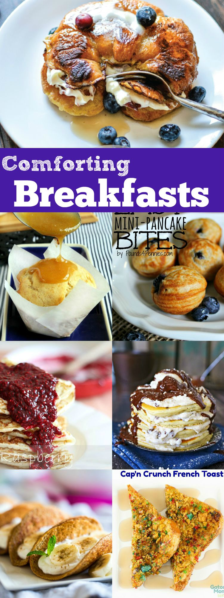 Comforting Breakfasts perfect for brunch!