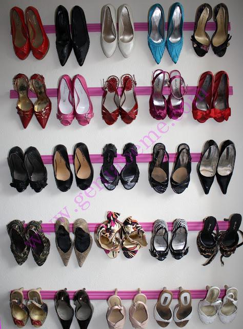 Crown Molding Shoe Rack by Geniabeme