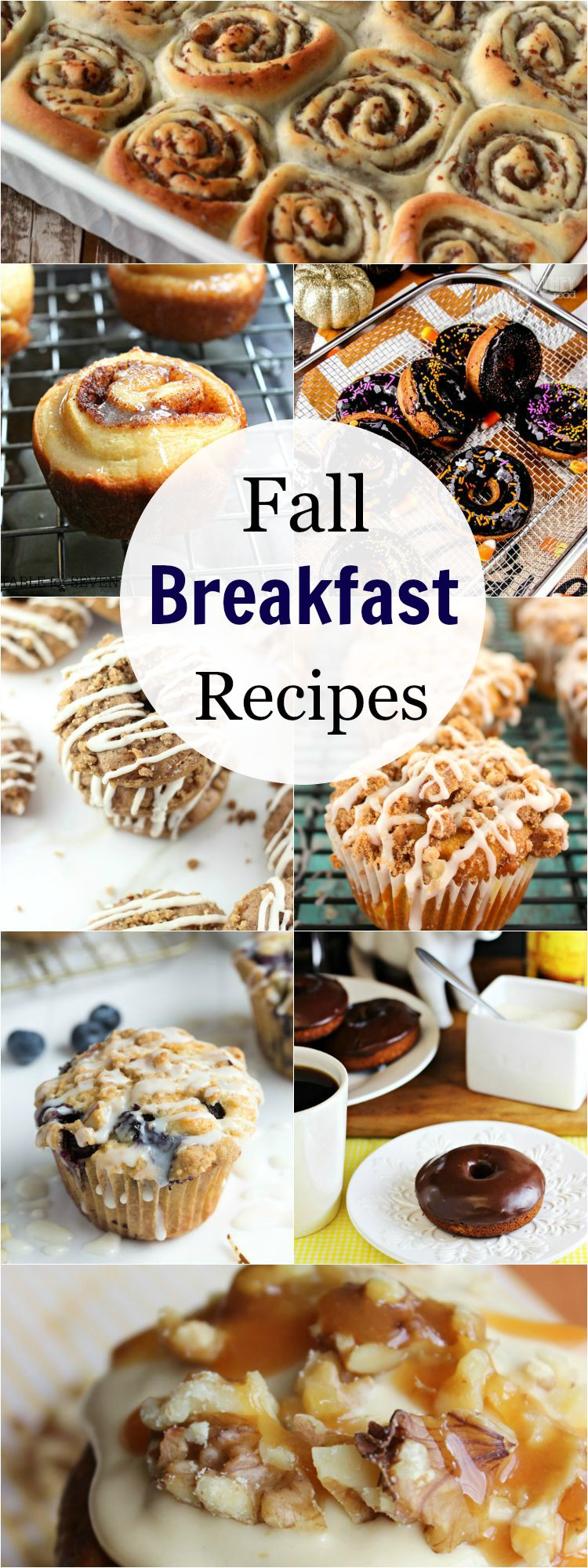 Fall Breakfast Recipes collected by The Melrose Family