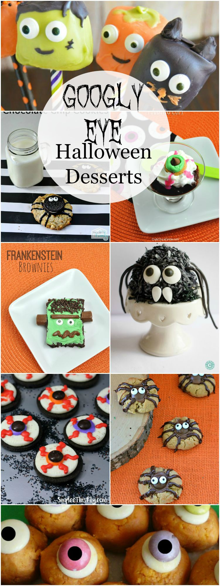 Googly Eye Halloween Desserts are the perfect Halloween Dessert to scare up a crowd and please the kiddos.