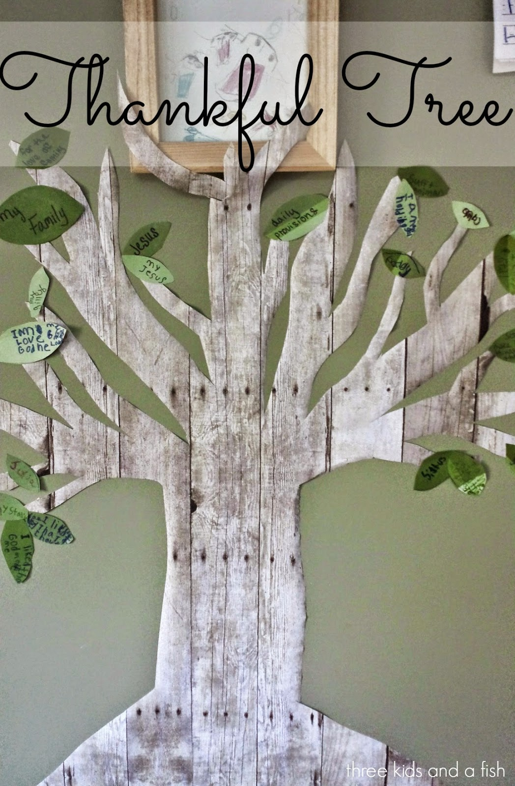 Gratitude crafts for kids the melrose family for Thankful tree craft for kids