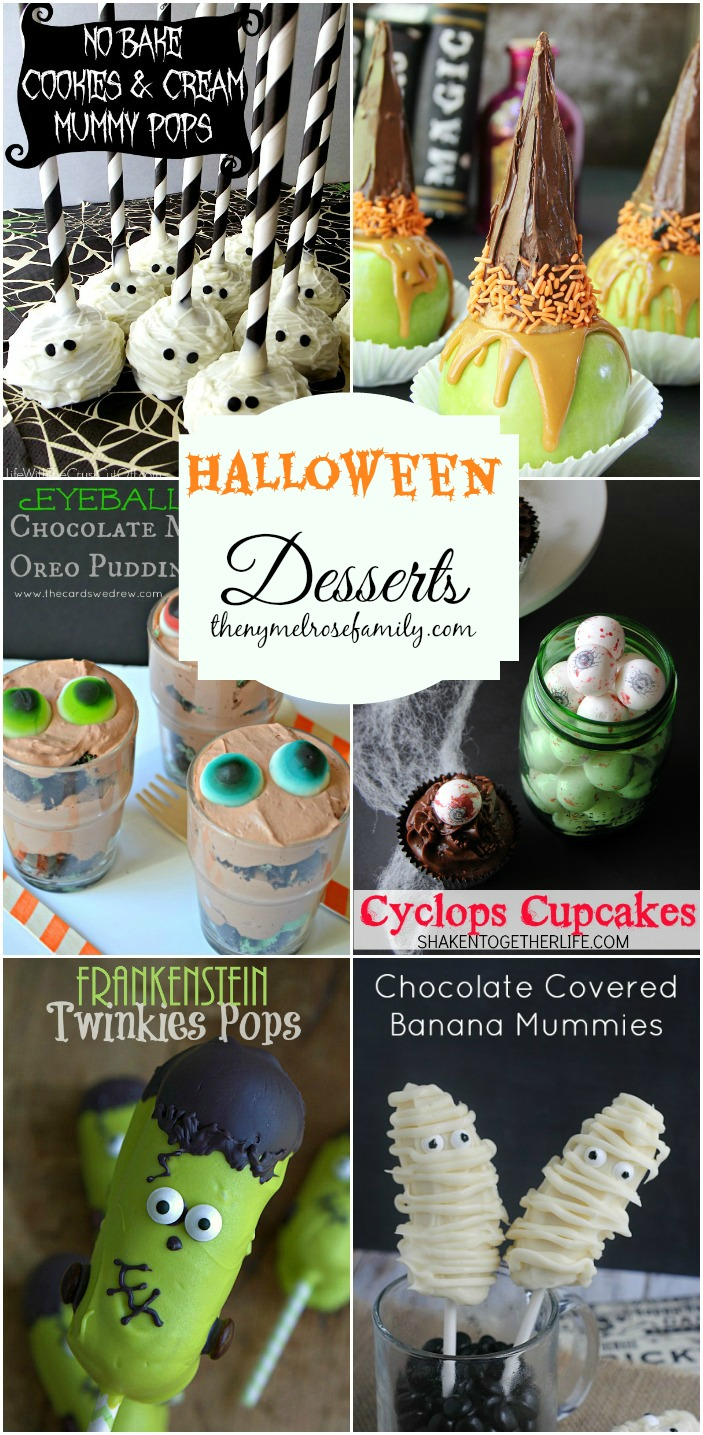 Halloween Desserts