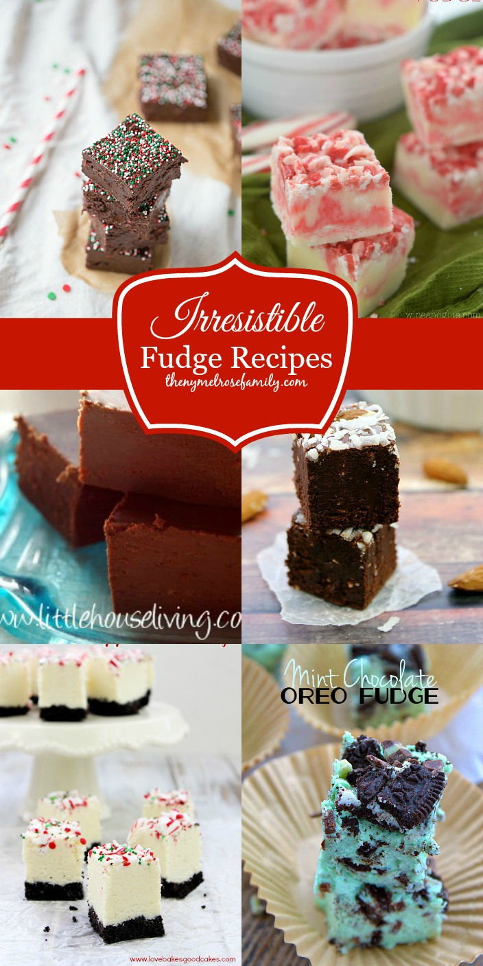 Irresistible Fudge Recipes collected by The NY Melrose Family