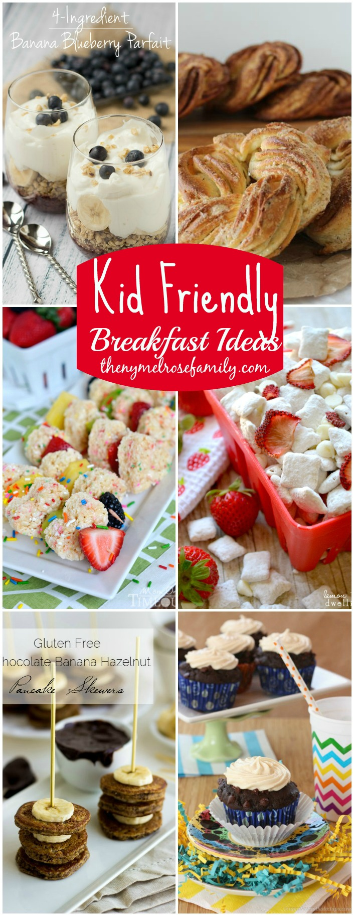 Kid Friendly Breakfast Ideas