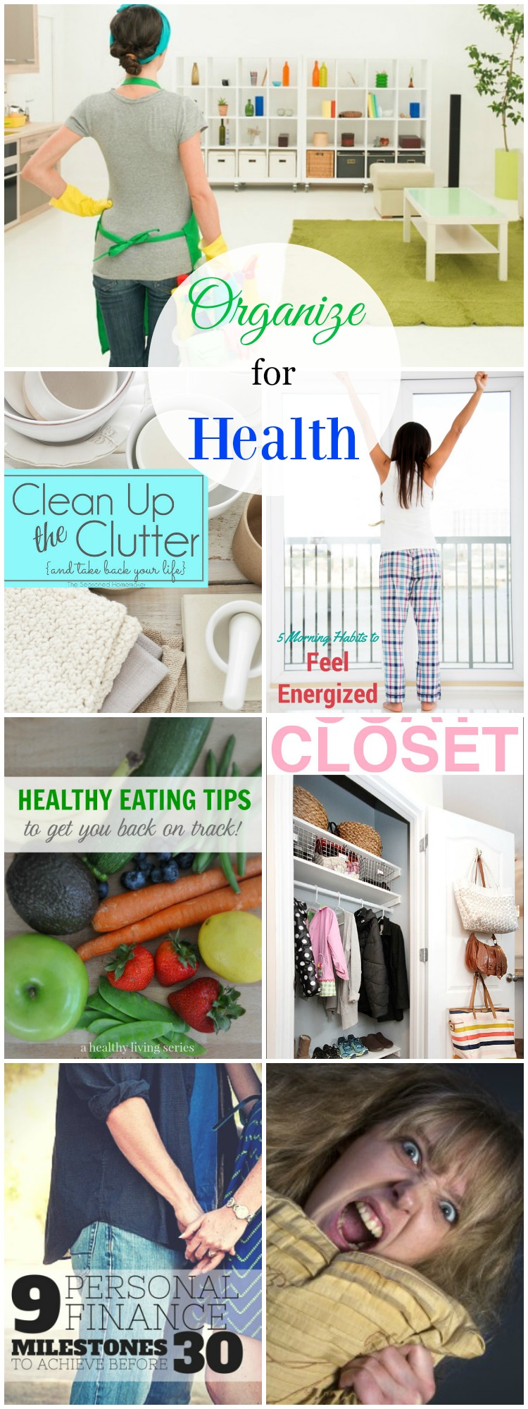 Tips to Organize for Health in 2016 so that your family can live a joyful life