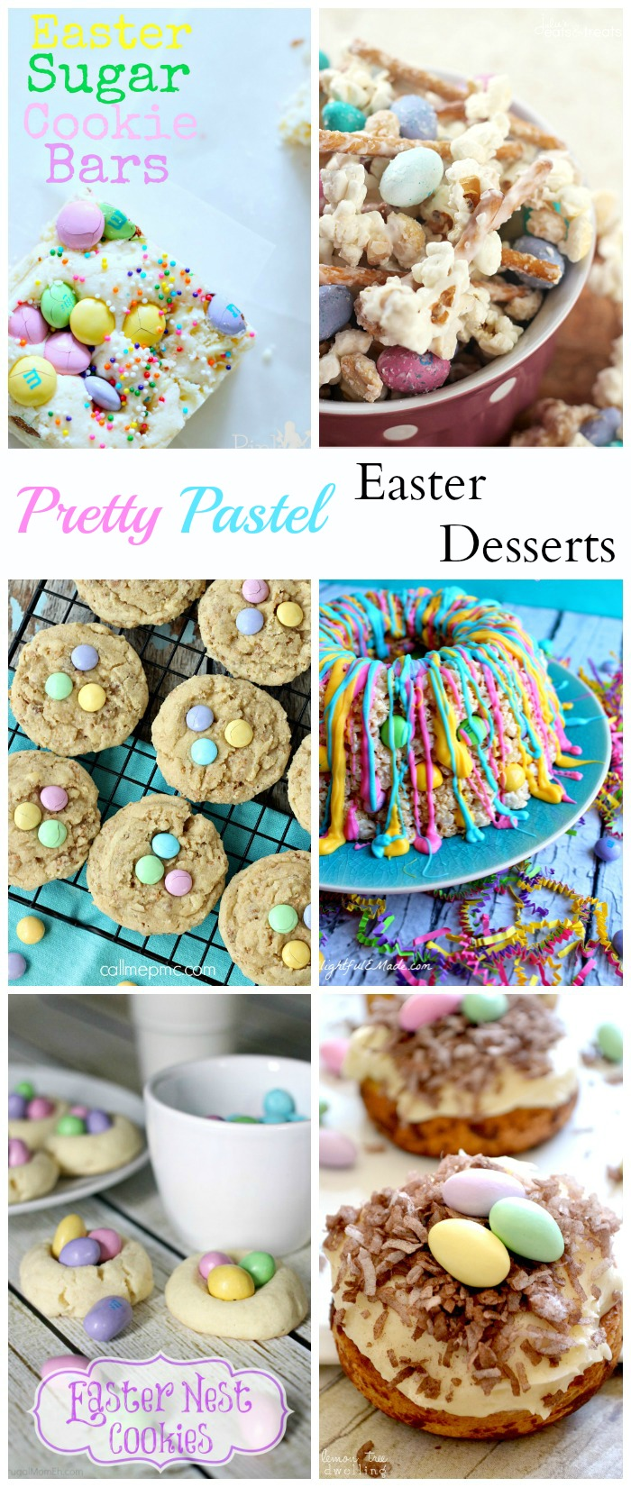Pretty Pastel Easter Desserts