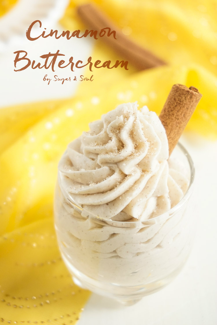 Cinnamon Buttercream Frosting by Sugar & Soul