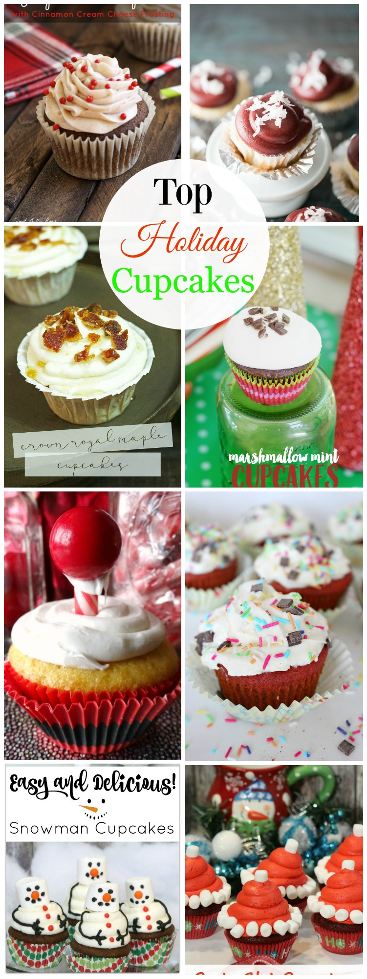 Top Holiday Cupcakes