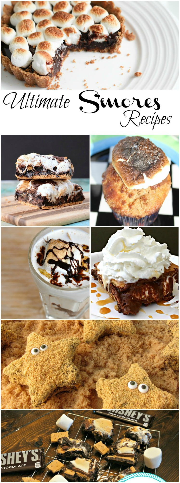 Ultimate S'mores Recipes collected by The Melrose Family