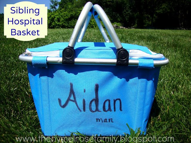 sibling hospital basket