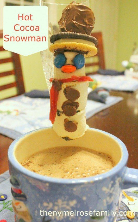 Hot Cocoa Snowman