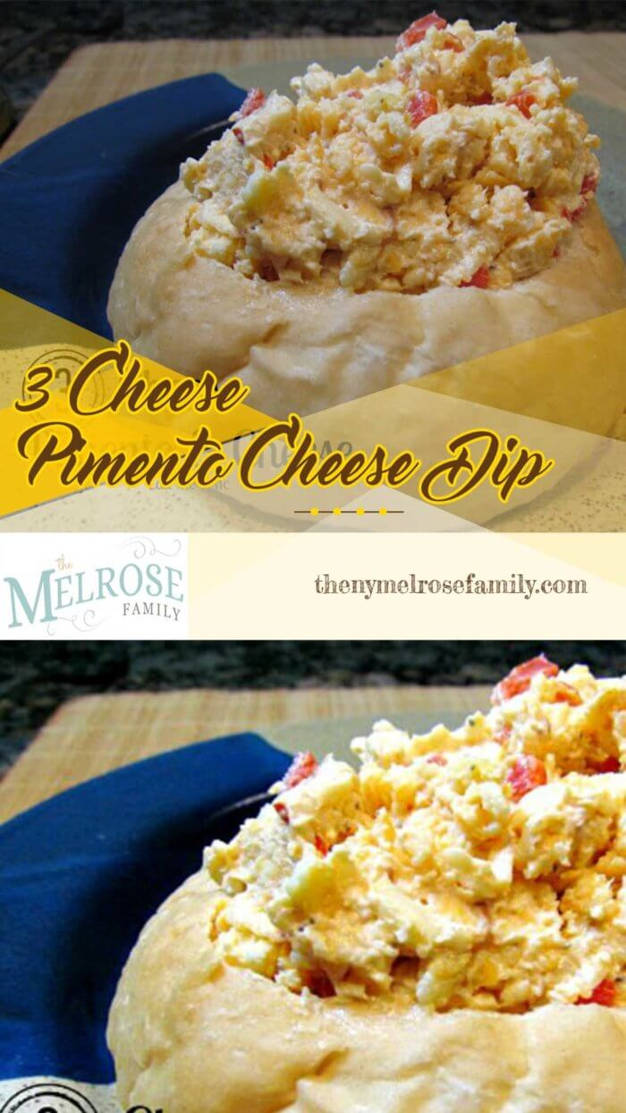 3 cheese pimento & cheese