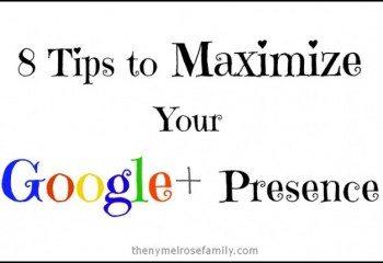 Tips for Google+