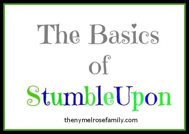 StumbleUpon Basics