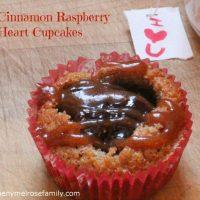 Cinnamon Raspberry Cupcakes