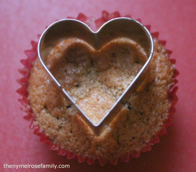 Cinnamon Raspberry Cupcake Cutout