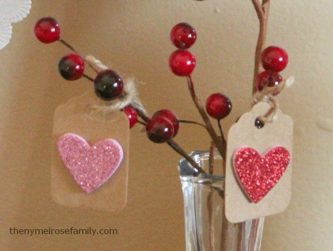 Easy Valentine Tags