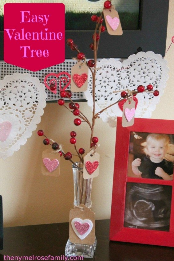 Valentine Tree Decor