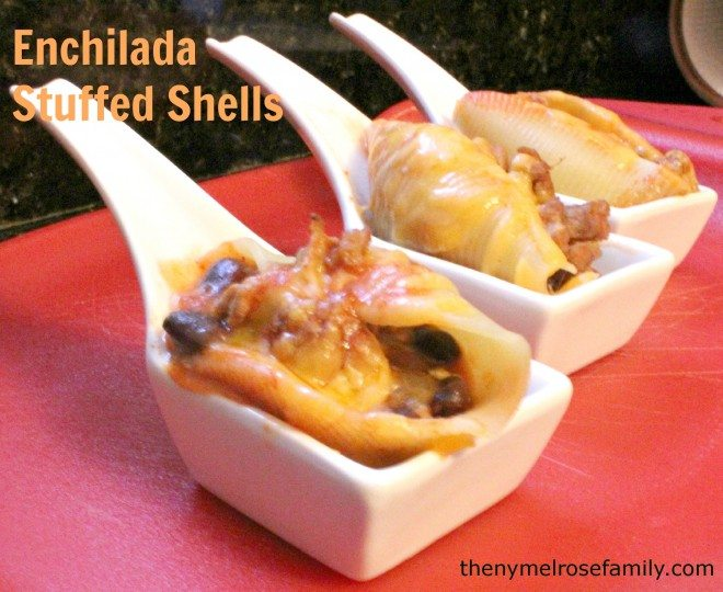 Enchilada Stuffed Shells Appetizer