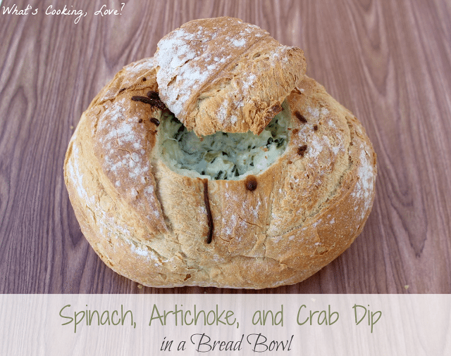 Spinach Artichoke and Crab Dip6