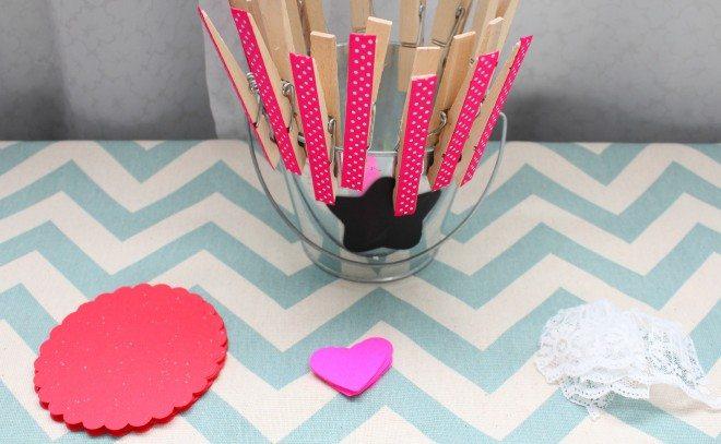 Valentine Countdown Supplies