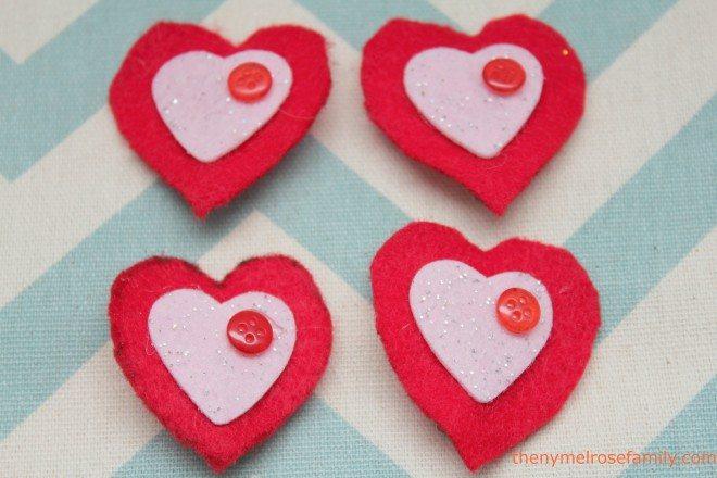 Valentine Hair Clips