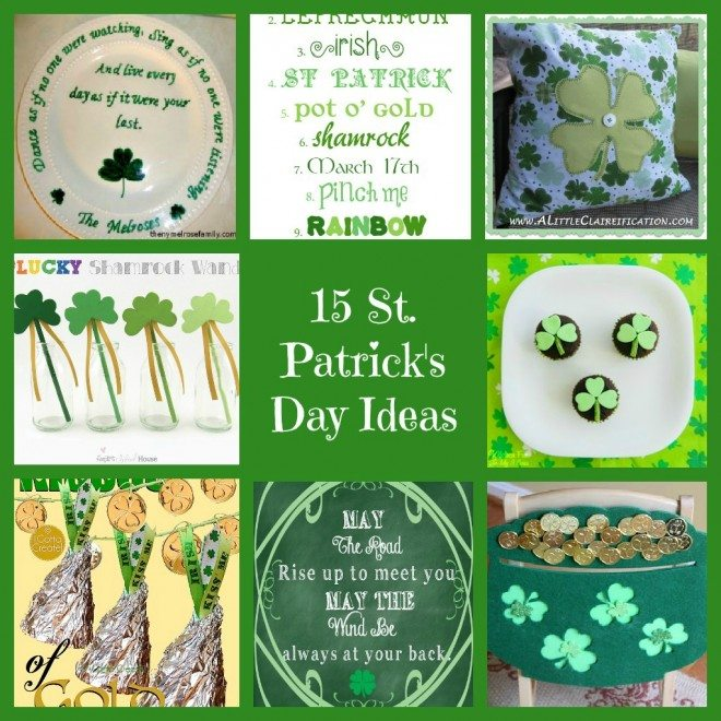 15 St. Patrick's Day Ideas