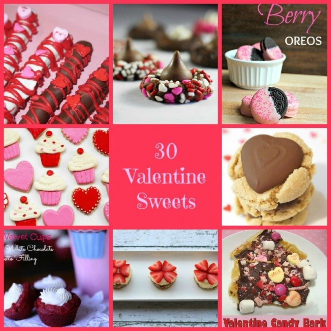 30 Valentine Sweets for your sweet