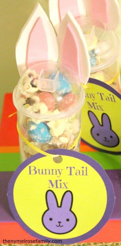 Bunny Tail Mix Treat
