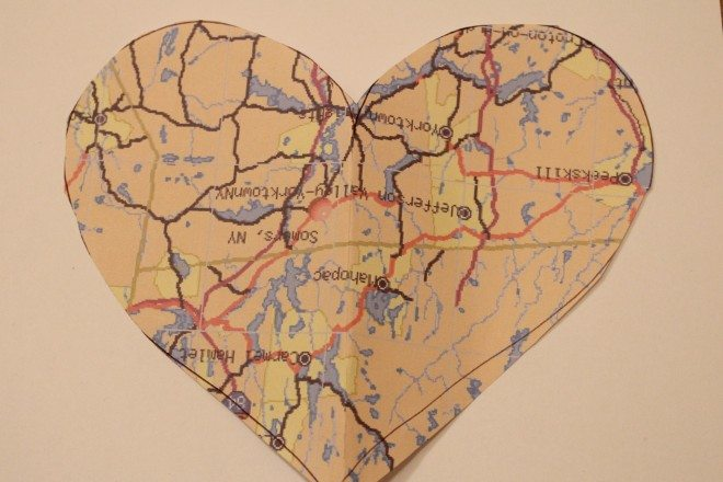Heart Map Gift Idea