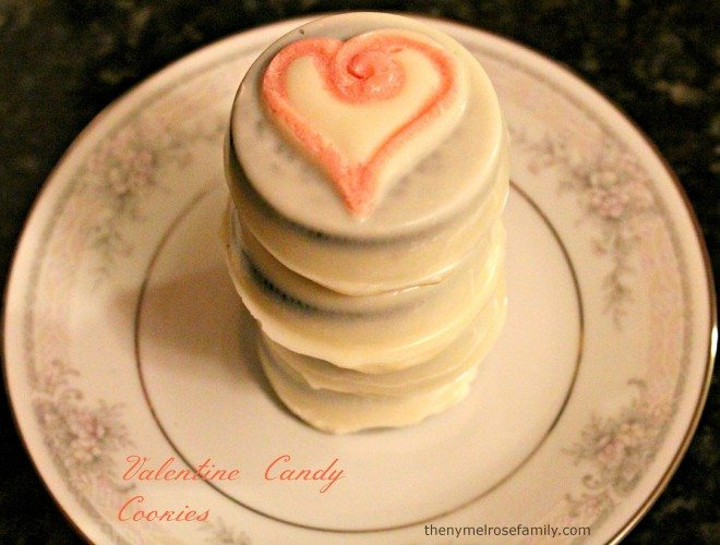 Valentine Candy Cookies