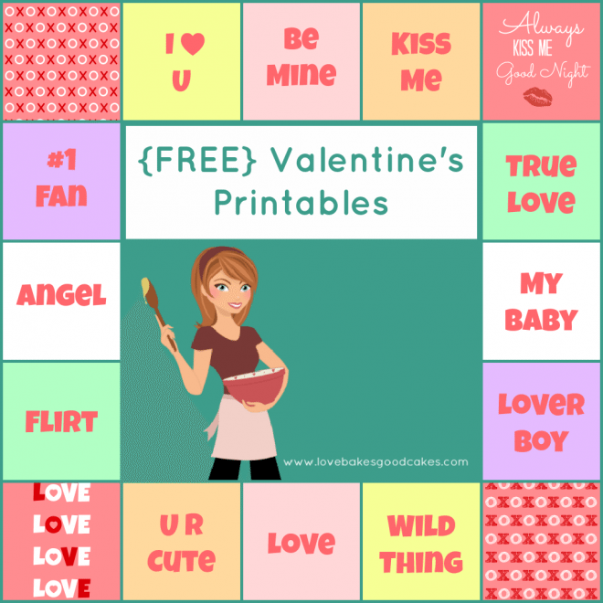 ValentinePrintableCollage