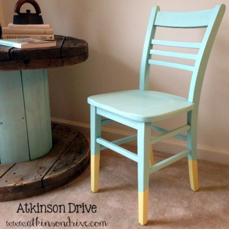 dip painted chair