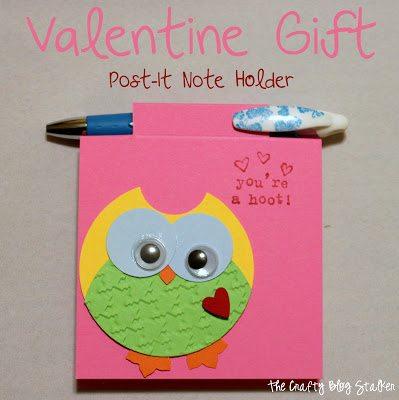 post it note valentine
