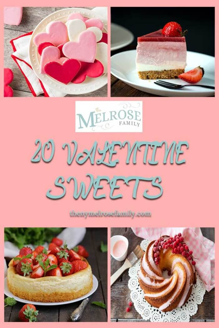 20 Valentine Sweets for your sweet
