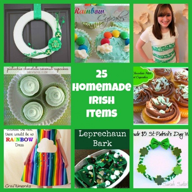 25 Homemade Irish Items