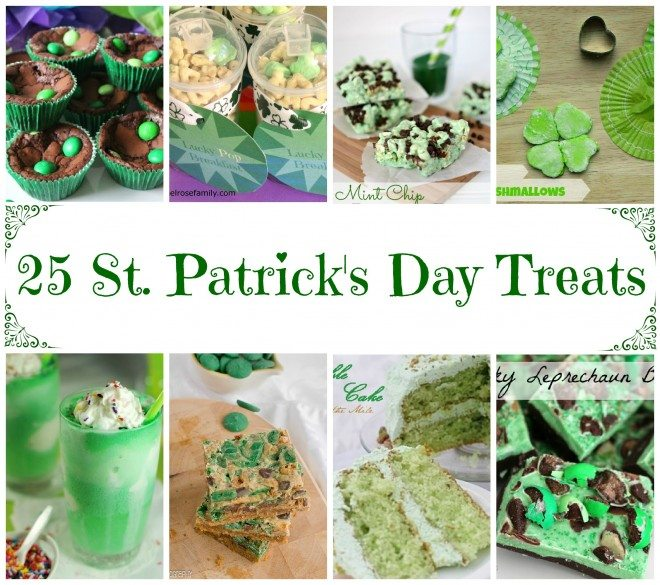 25 St. Patrick's Day Treats