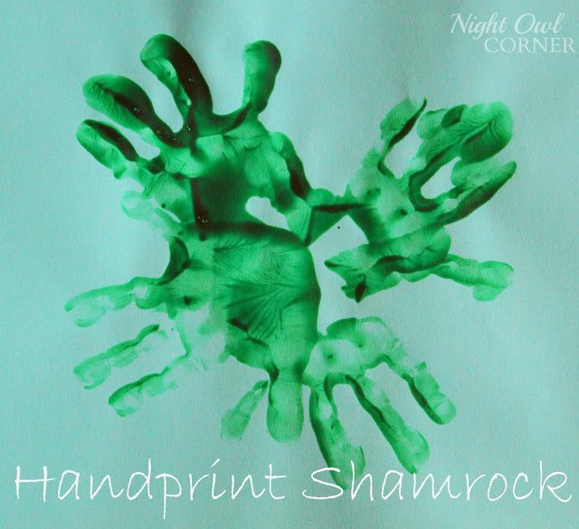 Handprint Shamrock1