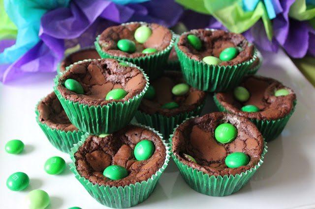 Mint M&M Brownies