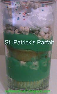 st. patrick's parfait