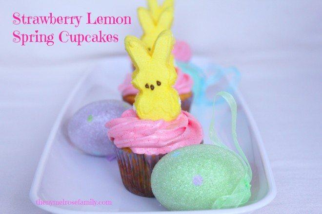 strawberry-lemon-spring-cupcakes