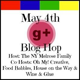 G+ Blog Hop Button for May