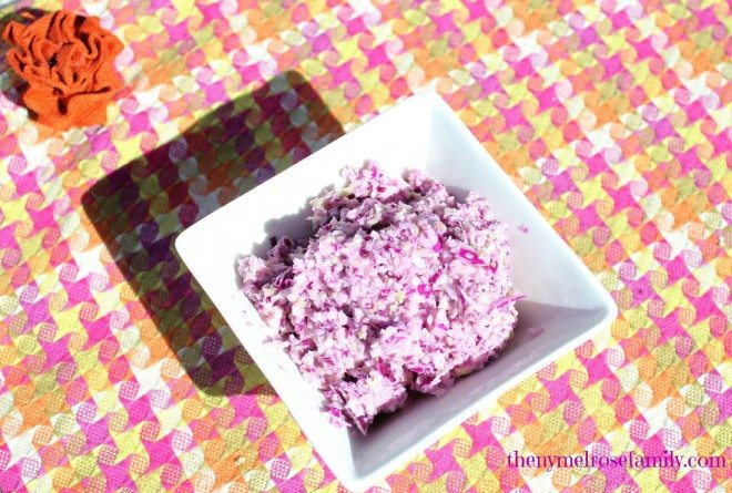 Sweet Red Cabbage Cole Slaw
