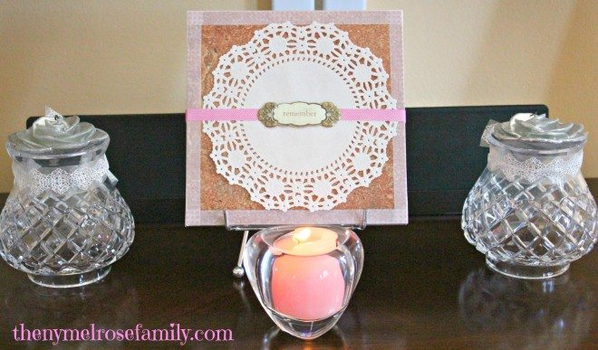 Vintage Tile Centerpiece