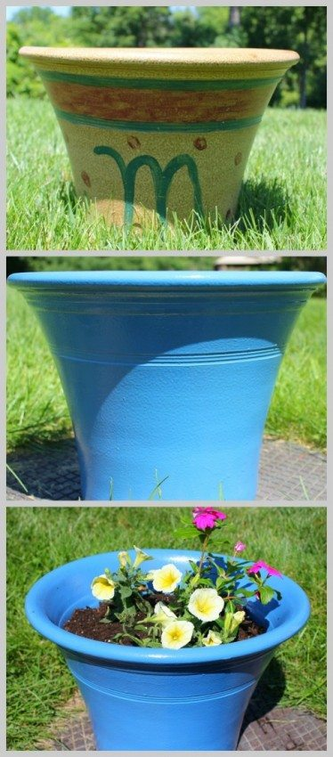 Easy Planter Transformation