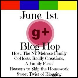 G+ Blog Hop Button June