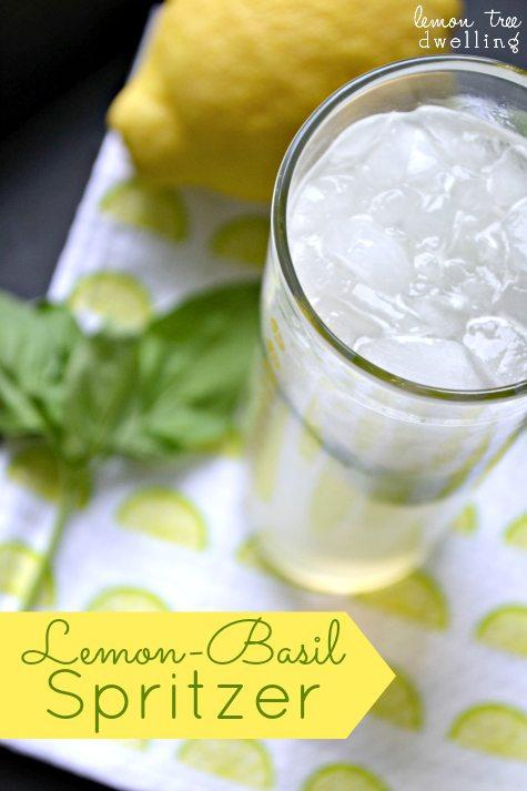 Lemon-Basil Spritzer 1