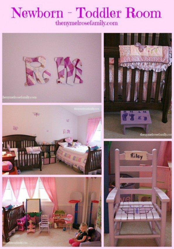 Newborn Toddler Room Reveal