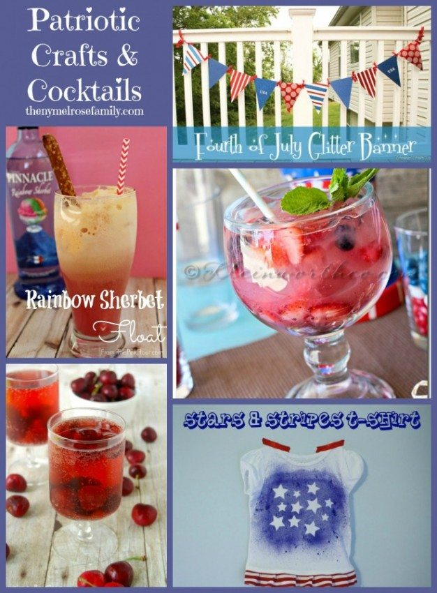 Patriotic Crafts & Cocktails